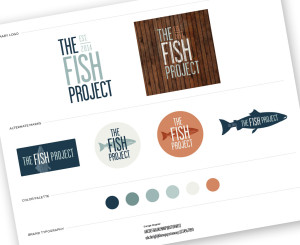 Restaurant Branding - The Fish Project