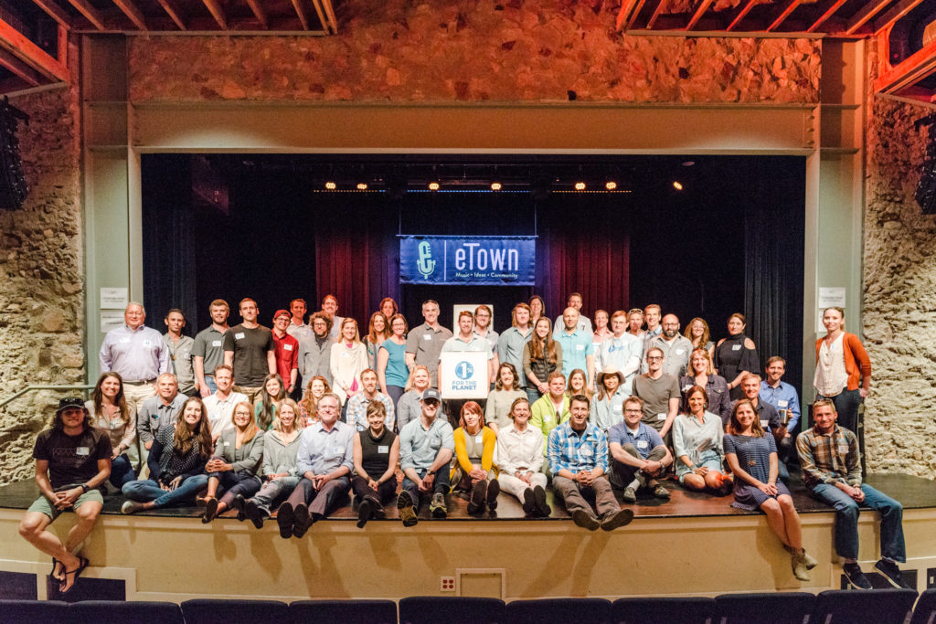1% for the Planet Give Back Gathering group photo